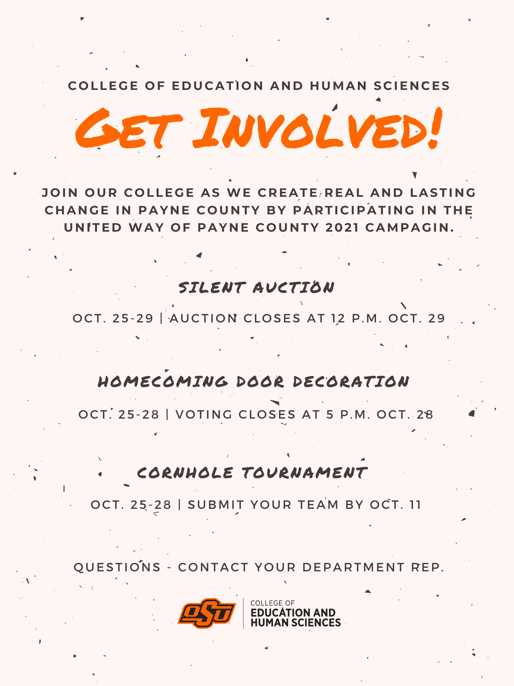 CEHS' Events for UWPC 2021 Campaign